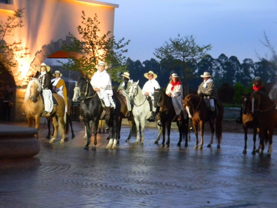 haras de caballos peruanos: